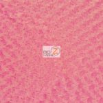 Rosette Floral Soft Minky Fabric Candy Pink