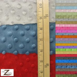 Dimple Dot Baby Soft Minky Fabric