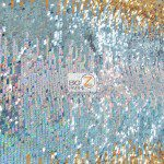 Low Price Moon Shadow Sequins Fabric Multi-Color Blue
