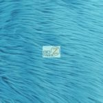 Low Priced Solid Gorilla Fur Fabric Turquoise