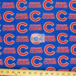 LOW PRICE MLB COTTON FABRIC CHICAGO CUBSLOW PRICE MLB COTTON FABRIC CHICAGO CUBS