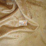 Low Price Alligator Chenille Fabric Fawn