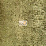 Low Price Alligator Chenille Fabric Forest Green