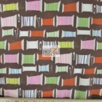 Low Price Alexander Henry Cool Spot Spools Of Thread Cotton Fabric