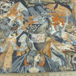 Low Price Alexander Henry Heart Of Darkness Cotton Fabric