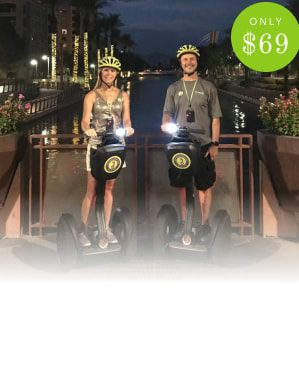 Scottsdale Segway Tours Ultimate Old Town Exploration Tour costs only $59 click to book your tour