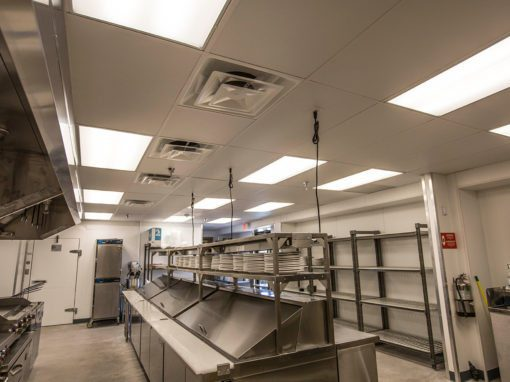 Commercial Kitchen Electrical and Lighting Upgrades